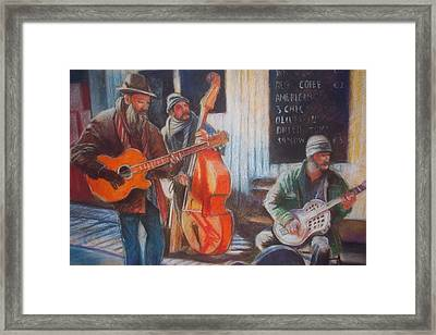 Framed Print featuring the painting Limerick  Milk Market by Paul Weerasekera