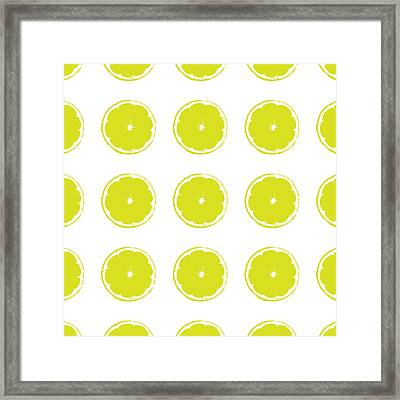 Limes Framed Print by Jocelyn Friis
