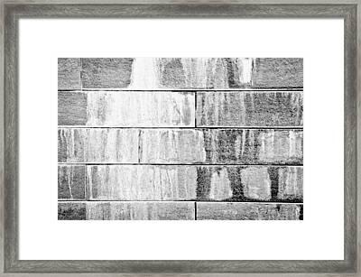 Limescale Framed Print by Tom Gowanlock