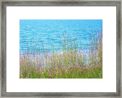 Limestone Lake Framed Print by Lanjee Chee