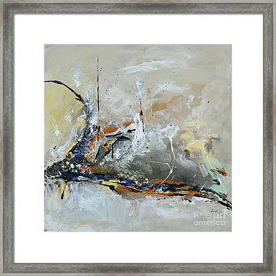 Limitless 1 - Abstract Painting Framed Print by Ismeta Gruenwald