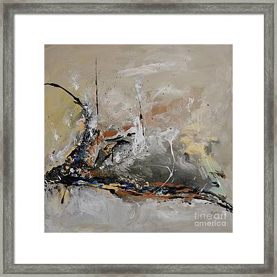 Limitless - Abstract Painting Framed Print by Ismeta Gruenwald