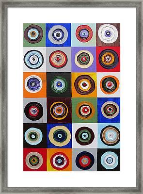 Limitless Life 2 Framed Print by Christine Krainock