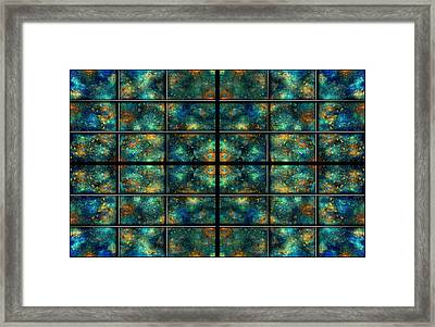 Limitless Night Sky Framed Print