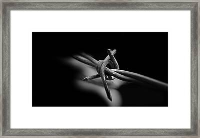 Limits Framed Print by Steven Milner