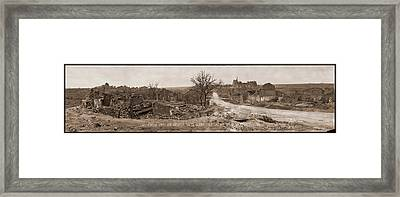 Limy, Through Which The American Forces Framed Print