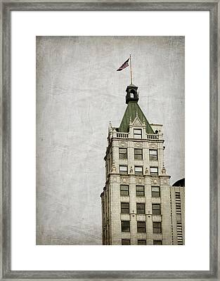 Lincoln American Tower Framed Print by Suzanne Barber