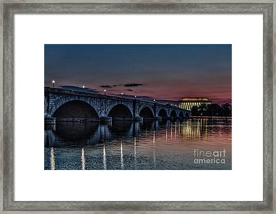 Lincoln At Sunrise Framed Print by Mark East