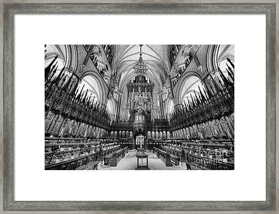 Lincoln Cathedral The Choir II Framed Print