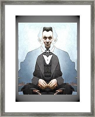 Lincoln Childlike Framed Print