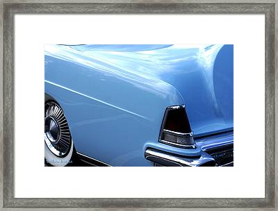 Lincoln Continental  Framed Print by Barbara Snyder