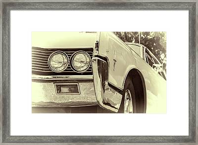 Lincoln Continental Framed Print by Joan Carroll