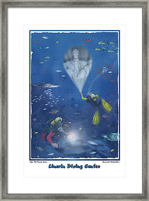 Lincoln Diving Center Framed Print