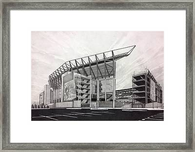 Lincoln Financial Field Framed Print by Gary Reising