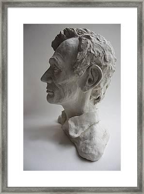 Lincoln-honest Abe Framed Print by Derrick Higgins