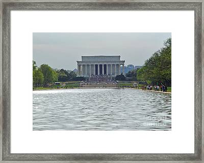 Lincoln Memorial 1 Framed Print