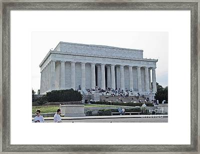 Lincoln Memorial 2 Framed Print