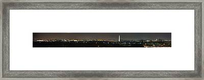 Lincoln Memorial And Washington Monument - Washington Dc - 01131 Framed Print by DC Photographer