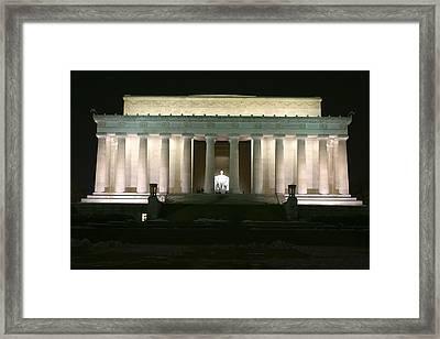 Lincoln Memorial Framed Print