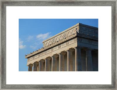 Lincoln Memorial - The Details Framed Print