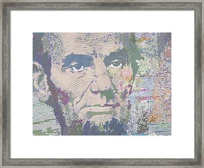 Lincoln Reimagined Horizontal Framed Print