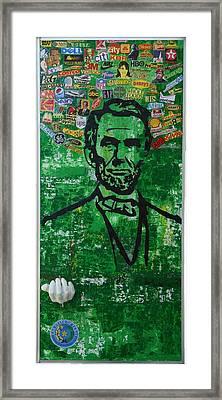 Lincoln- Texas Framed Print by Alireza Vazirabadi