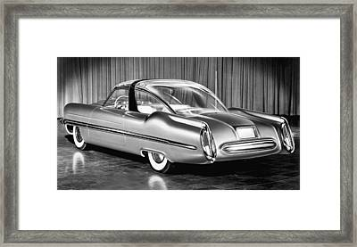 Lincoln Xl-500 Concept Car Framed Print by Underwood Archives