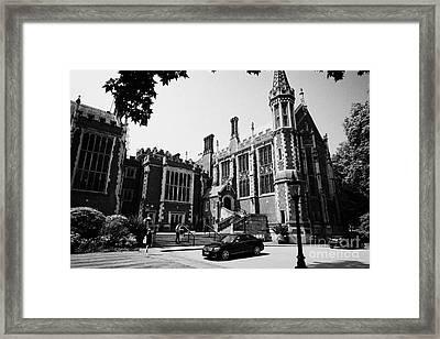 lincolns inn library and great hall London England UK Framed Print by Joe Fox