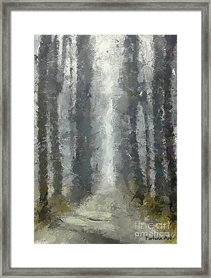 Linden Alley Framed Print