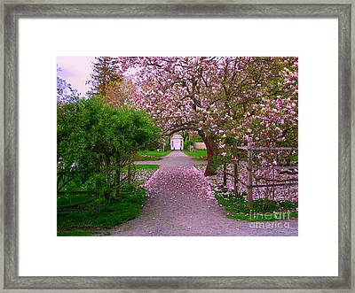 Linden Place Bristol Ri Framed Print by Tom Prendergast