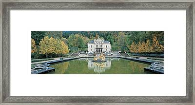 Linderhof Castle Germany Framed Print