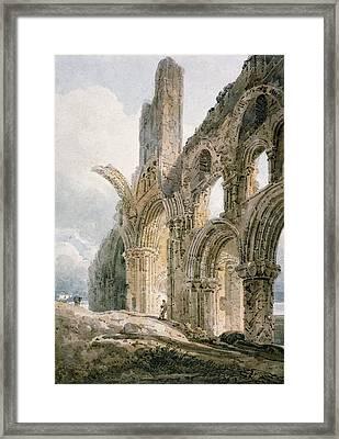 Lindisfarne Abbey Framed Print by Thomas Girtin