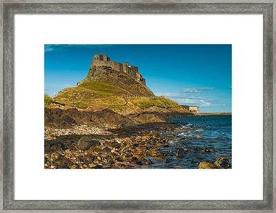 Lindisfarne Castle Framed Print by David Ross