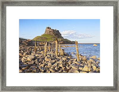 Lindisfarne Castle Holy Island Northumberland Framed Print by Colin and Linda McKie