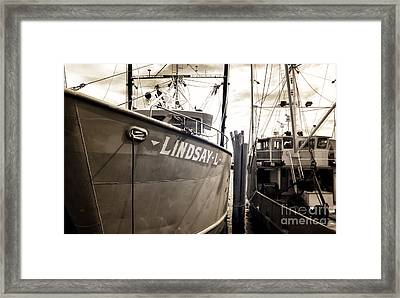 Lindsay L Framed Print by John Rizzuto