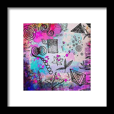 Line Framed Prints