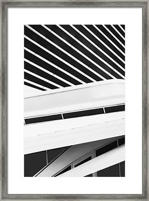 Line Form Framed Print by Jack Zulli