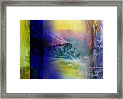 Linear Digital Framed Print