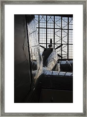 Lines And Angle Of Attack Framed Print