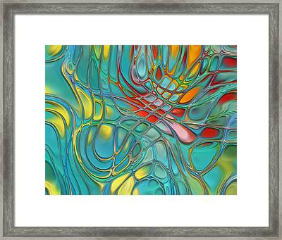 Lines And Circles -p07c08 Framed Print