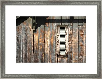 Framed Print featuring the photograph Lines And Designs by Todd Blanchard