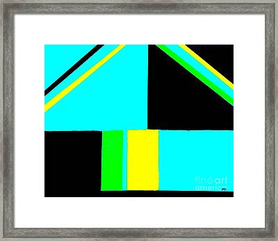 Lines And More Lines Framed Print by Marsha Heiken