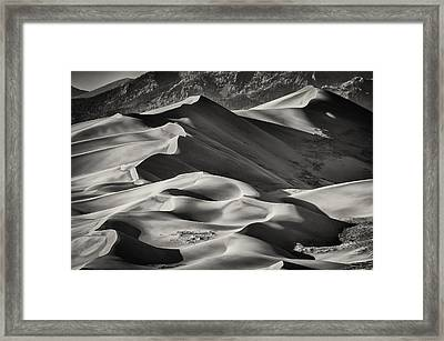 Lines And Shadows 2 Framed Print
