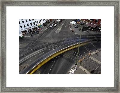 Lines And Strokes Framed Print by RicardMN Photography