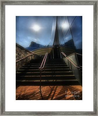 Framed Print featuring the photograph Lines N Textures by Robert McCubbin