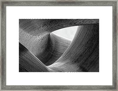 Lines Framed Print