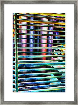 Lines Framed Print by Sylvia Thornton