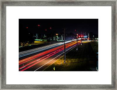 Lines To The Stars Framed Print by Alan Marlowe
