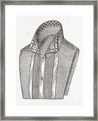 Lingerie A La Seymour, Needlework Framed Print