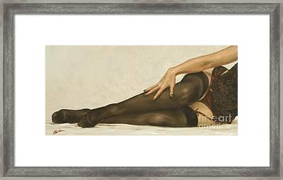 Lingerie II Framed Print by John Silver